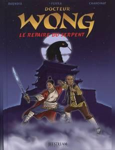 Couverture du premier album de la série Docteur Wong