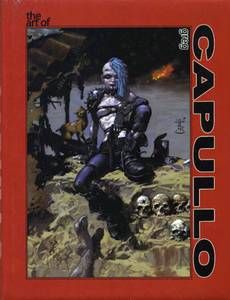 Couverture du premier album de la série The art of Greg Capullo