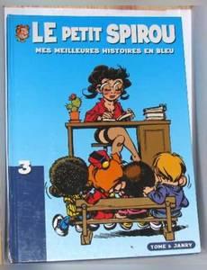 Couverture de l'album Le petit spirou mes meilleurs histoires en bleu tome III