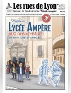 Couverture de l'album Lycée Ampère, 500 ans d'histoire