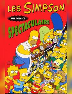 Couverture de l'album Les Simpson