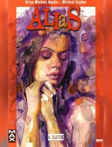 Couverture du premier album de la série Alias
