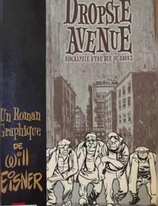 Couverture du premier album de la série Dropsie avenue