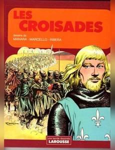 Couverture du premier album de la série Les croisades