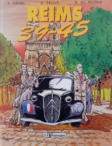 Couverture du premier album de la série Reims 39-45