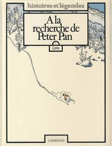 Couverture du premier album de la série A la Recherche de Peter Pan