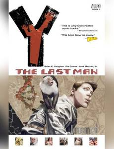 Couverture du premier album de la série Y: the last man