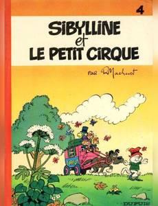 Couverture du premier album de la série Sibylline