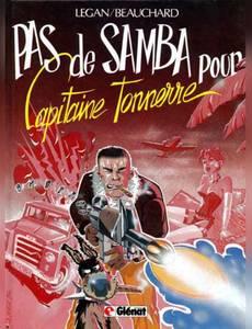 Couverture du premier album de la série Capitaine Tonnerre