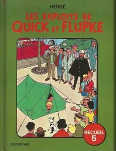 Couverture de l'album Les exploits de Quick et Flupke