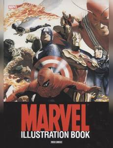 Couverture du premier album de la série Marvel Illustration Book