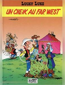Couverture de l'album un Cheik au Far West