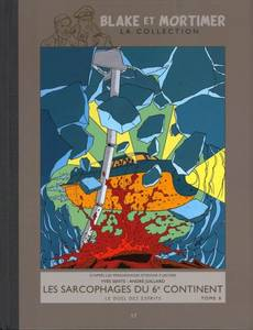 Couverture de l'album Les Sarcophages du 6eme continent T2