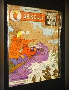 Couverture du premier album de la série Barelli