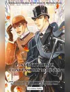 Couverture du premier album de la série Sherlock Holmes et Dr Watson - L'aventure du concussoris Magnus