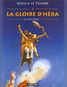 Couverture du premier album de la série La Gloire d'Héra