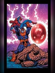 Couverture de l'album Avengers vs. Thanos