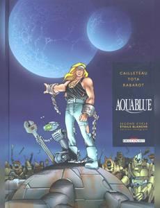 Couverture du premier album de la série Aquablue