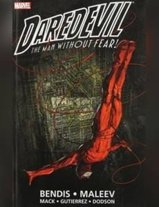 Couverture du premier album de la série Daredevil - The Man without Fear