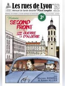 Couverture de l'album Second front, Lyon dans la guerre d'Algérie