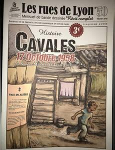 Couverture de l'album Cavales, 17 octobre 1954