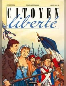 Couverture du premier album de la série Citoyen Liberté