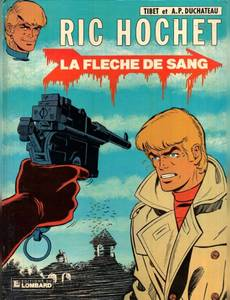 Couverture du premier album de la série Ric Hochet