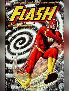 Couverture du premier album de la série Flash (Big Books)