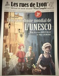 Couverture de l'album Lyon, patrimoine mondial de l'UNESCO
