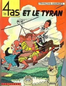 Couverture de l'album Les 4as et le Tyran