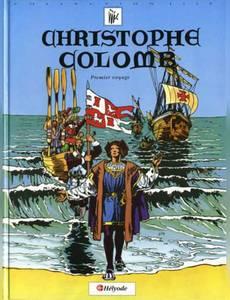 Couverture du premier album de la série Christophe Colomb