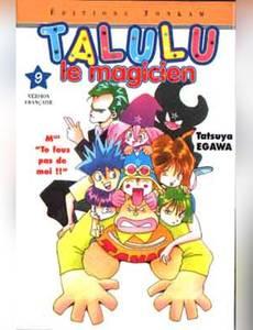 Couverture de l'album Talulu le magicien, tome 9
