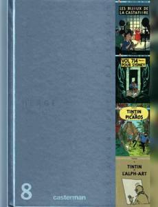 Couverture de l'album Tintin, Coffret 75e anniversaire
