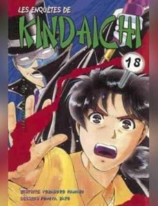 Couverture de l'album Les enquêtes de Kindaichi. 18