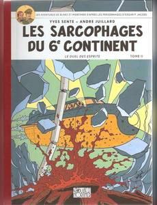 Couverture de l'album Les Sarcophages du 6eme Continents - le Duel des Esprits