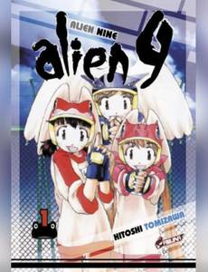 Couverture du premier album de la série Alien 9
