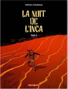 Couverture de l'album La Nuit de l'Inca