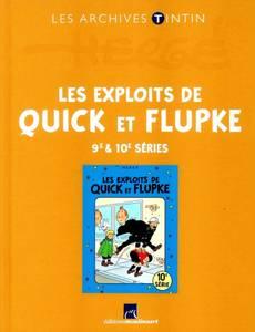 Couverture de l'album Les Exploits de Quick et Flupke - 9e & 10e séries