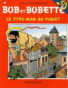 Couverture de l'album Le Pyro-Man au piquet