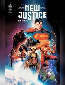 Couverture du premier album de la série New Justice