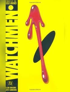 Couverture du premier album de la série Watchmen - Deluxe edition