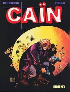 Couverture du premier album de la série Caïn