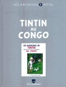 Couverture de l'album Tintin au Congo