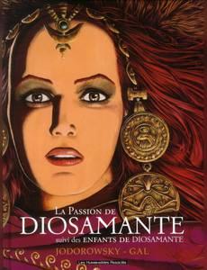 Couverture du premier album de la série Diosamante - la parabole du Royaume en Feu