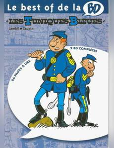 Couverture de l'album Le best of de la BD  - Les Tuniques Bleues