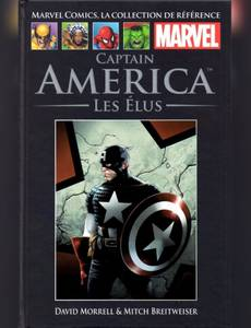 Couverture de l'album Captain America - les Elus