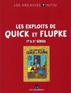 Couverture de l'album Les Exploits de Quick et Flupke - 1re & 2e séries