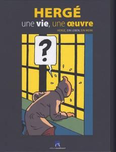 Couverture de l'album Hergé une vie, une œuvre
