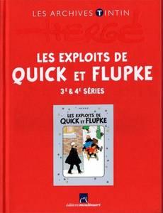 Couverture de l'album Les Exploits de Quick et Flupke - 3e & 4e séries