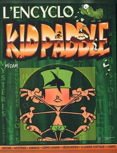 Couverture du premier album de la série Kid Paddle